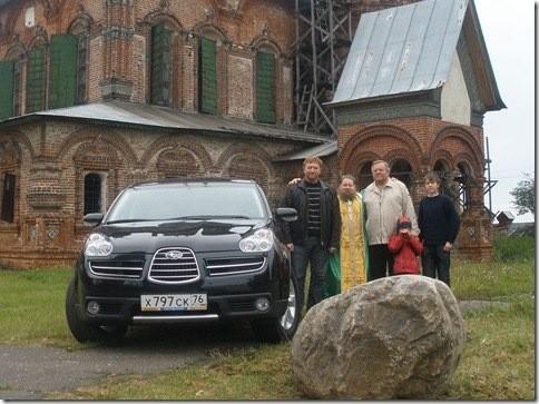 отец Анатолий освящение автомобиля