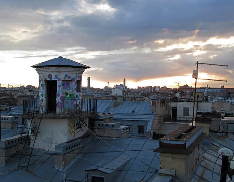 МПВО прогулки по крышам Петербурга
